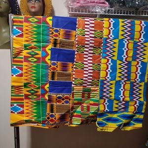 African traditional Ankara wax